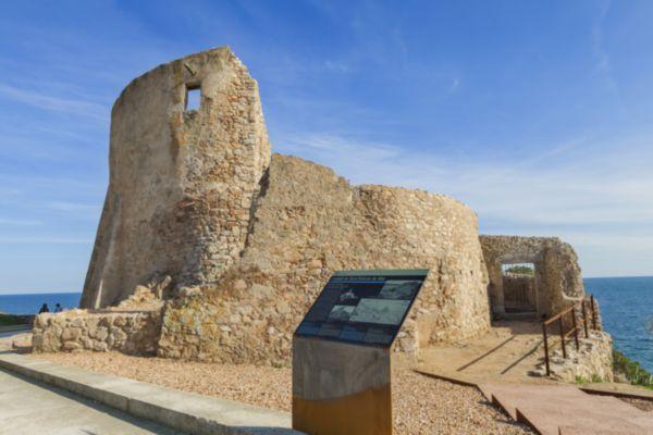 Castell de Sant Esteve de la Fosca. Palamós